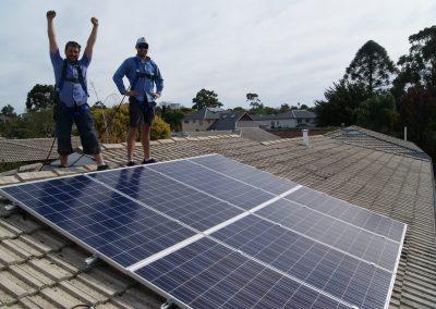 pat & nathan solar install